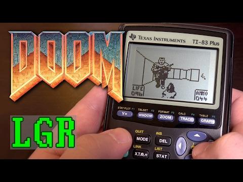 Nörtti pelaa laskimella Doomia – Toimii, ainakin jotenkin