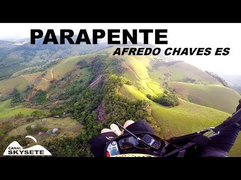 Voo Parapente Alfredo Chaves ES.