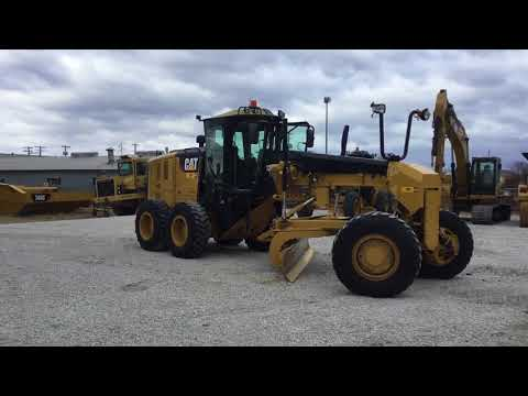 CATERPILLAR NIVELEUSES 120M2AWD equipment video ndwDi4yMPNM