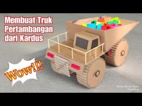 Mainan Mobil Mobilan Dari Kardus Review Mainan Anak Bayi Dan Balita