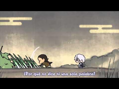 Mini Sengoku Basara II 01 [Sub esp & eng] (видео)