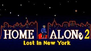 Eng Home Alone 2  Full Walkthrough Sega Genesis 1080pEPX+