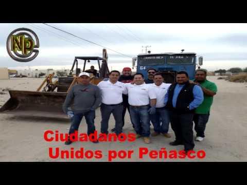Ciudadanos Unidos por Peñasco Recogen basura en villas de altar de la colonia nuevo peñasco