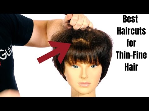Hairdresser - Best Haircuts for Thin Fine Hair - TheSalonGuy