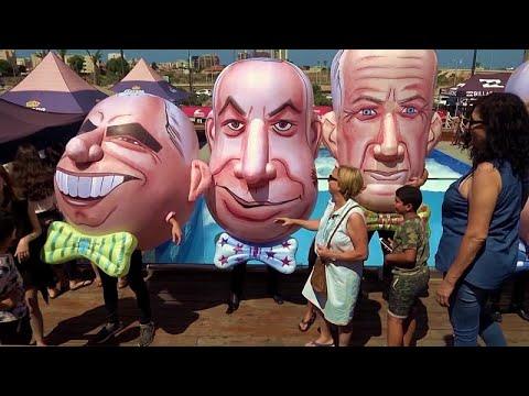 Στις παραλίες οι Ισραηλινοί την ημέρα των εκλογών