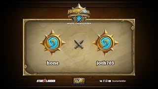 hone vs joth703, game 1