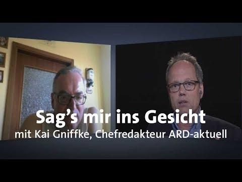 """LIVE: """"Sag's mir ins Gesicht"""" mit Kai Gniffke"""
