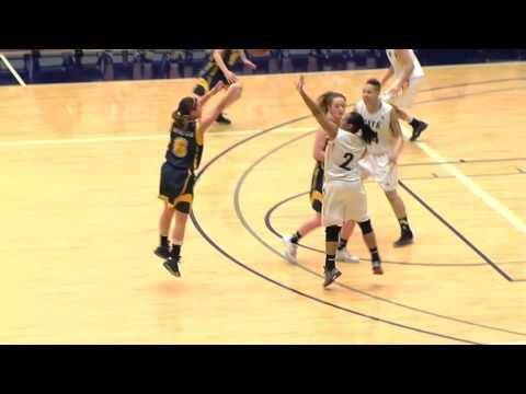 2016-01-30 TWU Women's Basketball Highlights vs Brandon