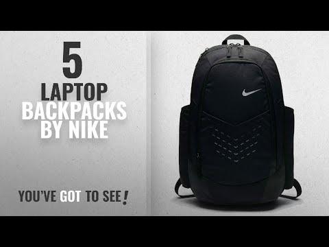 Top 10 Nike Laptop Backpacks [2018]: Nike Vapor Energy Training Backpack Black/Metallic Silver