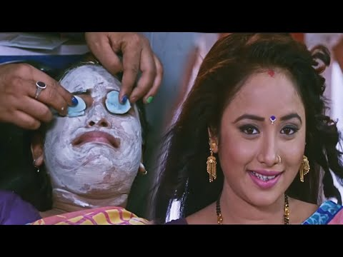Rani Chatterjee Transformation after makeup - Bhojpuri Flim Clip - Gharwali Baharwali
