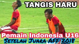 Video Detik-detik kemenangan Timnas Indonesia U16 Juara AFF 2018 | Indonesia vs Thailand GOR Delta Sda MP3, 3GP, MP4, WEBM, AVI, FLV Desember 2018