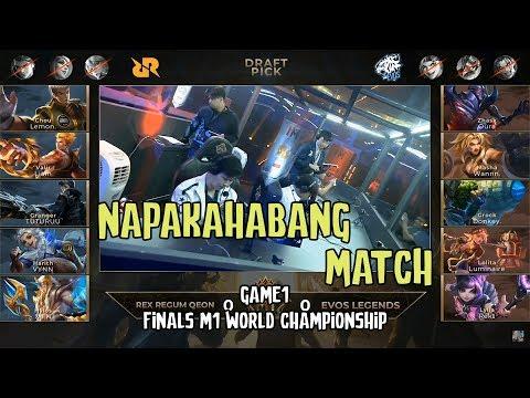 M1 FINALS EVOS vs RRQ GAME 1 - NAPAKAHABANG MATCH