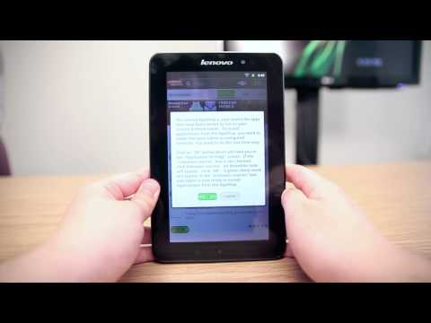 Lenovo Tablet A1 7″ 2.3 Android Gingerbread Tablet Review