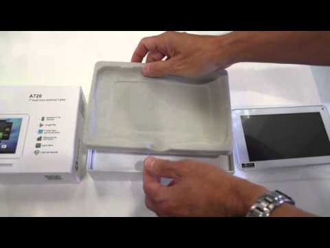 Azpen Innovations Presents: Azpen A720 packaging and accessories