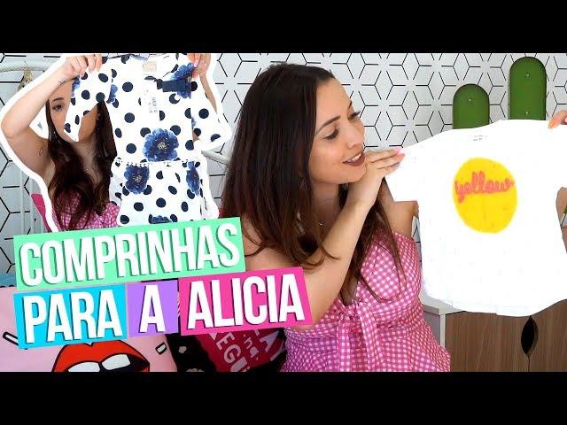 COMPRINHAS PARA A ALICIA - Taciele Alcolea