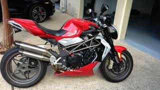 4. MV Agusta Brutale 990R acceleration and exhaust sound