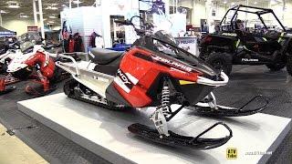 8. 2015 Polaris 550 Indy Voyageur 155 Sled - Walkaround - 2014 Toronto ATV Show