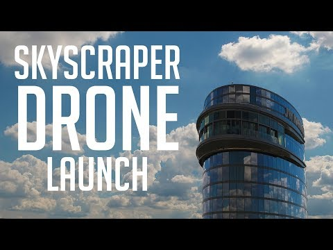 Launching A Drone From A SkyScraper - KEN HERON (JW Marriott Hotel)