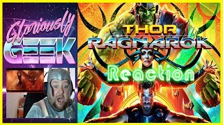 Gloriously Geek reacts to the NEW trailer for THOR RAGNAROK, The Mighty Thor, and The Incredible Hulk Team up to save Asgard! THOR RAGNAROK  Reaction  Comic-Con Trailer 2SUBSCRIBE HERE ► https://www.youtube.com/channel/UCPAckJ3dleAOCJcMG4qhPQg?sub_confirmation=1Follow my Instagram ► http://instagram.com/gloriouslygeekFollow me on Twitter ► https://twitter.com/gloriouslygeekLike me on Facebook ► https://www.facebook.com/gloriouslygeekVisit Mick's Mixology ► https://www.youtube.com/channel/UCjnnQc-Wkt3pcGsguoVoIPQ?sub_confirmation=1