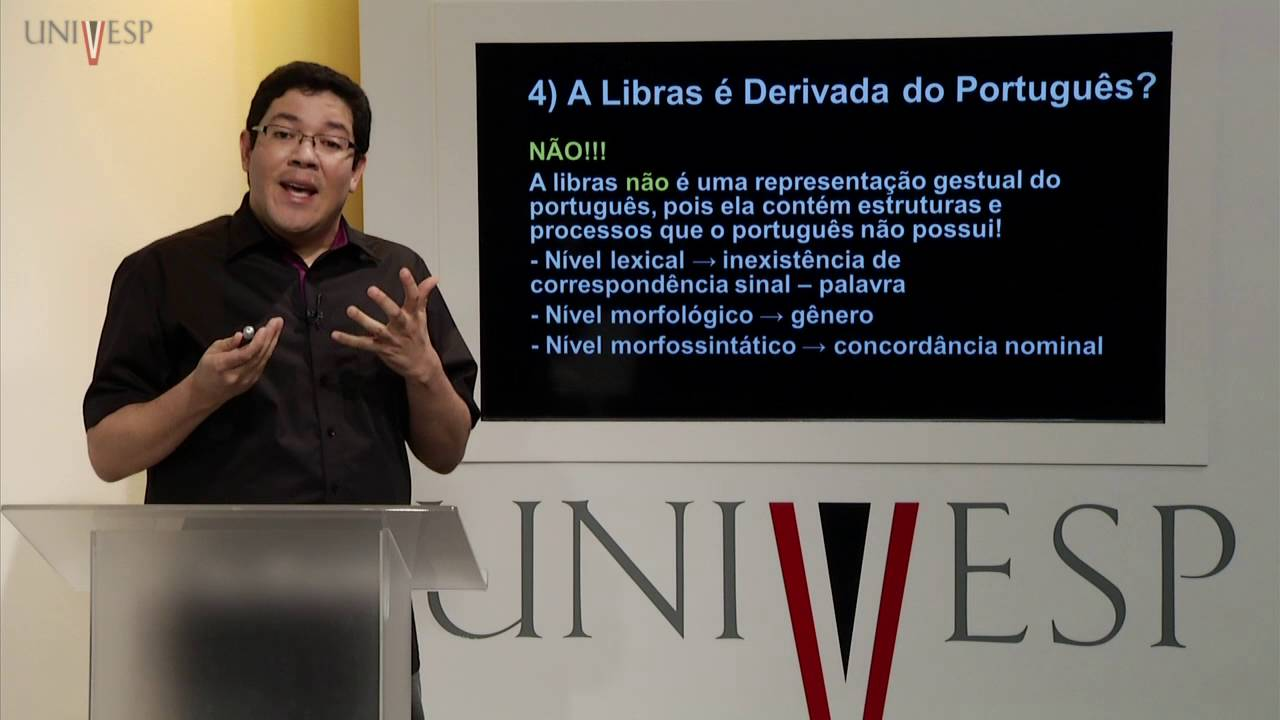 LIBRAS - Aula 07 - Mitos sobre as línguas de sinais: Parte 1