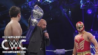 Nonton Triple H Reveals The New Wwe Cruiserweight Championship  Cruiserweight Classic Live Finale Film Subtitle Indonesia Streaming Movie Download