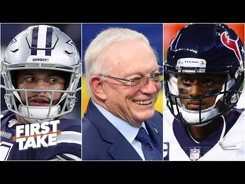 Are the Cowboys mishandling their QB situation more than the Texans? | First Take