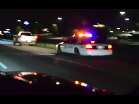 350z vs Duramax LB7 Caught by Police Racing!_Car videos
