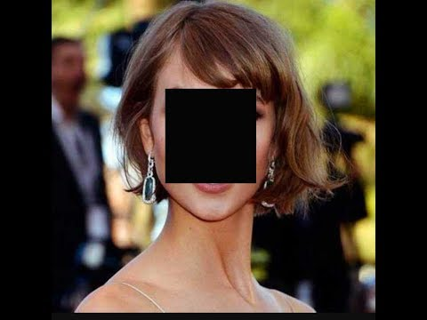 How to cut Kira Knightly's hair