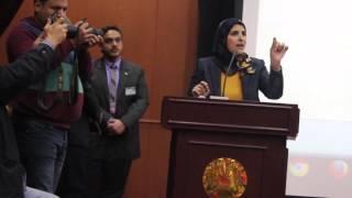 بالفيديو| نشوى الحوفي في عيد الدقهلية القومي: حروب الجيل الرابع بدأت من المنصورة