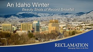 Record snowfall has hit Southwest Idaho in 2017. Check out these beauty shots of the snowfall and learn why snow is important to water storage!  1/24/2017 BOR Video by Kirsten Strough