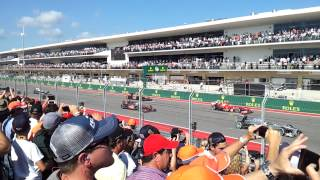 Austin (TX) United States  city photos : F1 Austin Grand Prix race start!