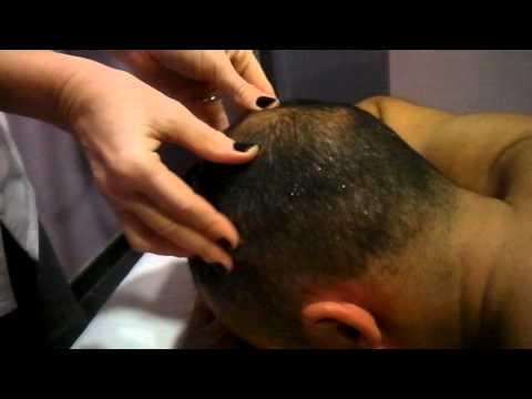 SOS  massaggio al cuoio capelluto