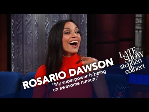 Rosario Dawson Promises She's Dating Eric Andre