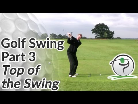 Golf Swing Sequence Part 3 – Top of Backswing