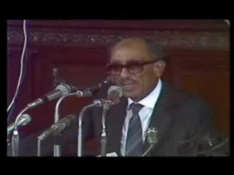 الخطاب الأخير للرئيس أنور السادات في مجلس الشعب كامل 13