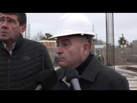 Pesatti, Di Tella, Valeri: recorrida obra nueva sede central del IPROSS