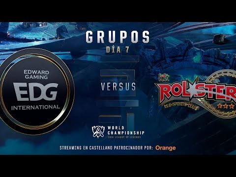 EDWARD GAMING VS KT ROLSTER | WORLDS GRUPOS | DÍA 6 | LEAGUE OF LEGENDS WORLDS (2018)