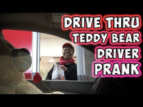 Drive-Thru Teddy Bear Prank [WATCH]