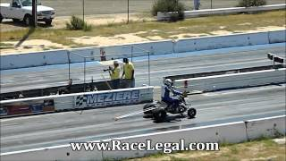 Yamaha Banshee Drag Racing Barona Drag Strip 4-6-2013
