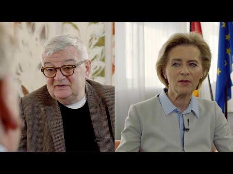 Ο Κον Μπεντίτ «ανακρίνει» τον Γιόσκα Φίσερ και την Ούρσουλα φον ντερ Λάιεν…