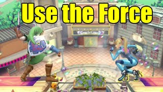 """The Force"" Grab Glitch Done with Every Character in Super Smash Bros Wii U"