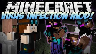 Video Minecraft | VIRUS INFECTION! (Can You Save the World from EVIL?) | Mod Showcase MP3, 3GP, MP4, WEBM, AVI, FLV September 2018