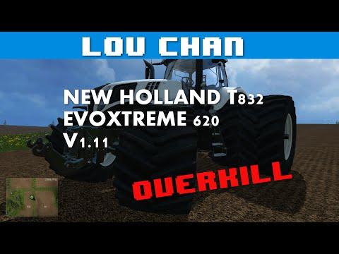 New Holland T832 EvoXtreme 620 V1.11