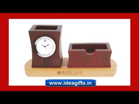 Corporate Wooden Table Tops Clocks and Gifts Manufacturers In Delhi