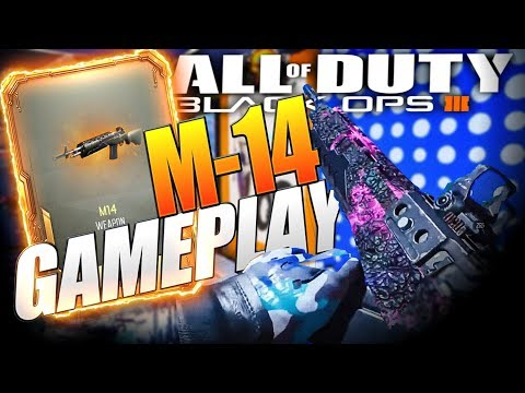 Black Ops 3 NEW M14 Gameplay! BO3 NEW DLC Weapons! (видео)