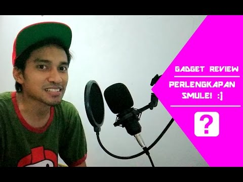 UNBOXING & QUICK REVIEW MIC PERLATAN UNTUK SMULE! | Review Time