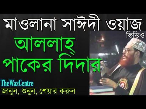 Video Delwar Hossain Saidi Waz. আল্লাহ পাকের দিদার. Bangla Waz Mahfil. download in MP3, 3GP, MP4, WEBM, AVI, FLV January 2017