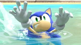 All Characters Swimming And Drowning Animations in Super Smash Bros Ultimate
