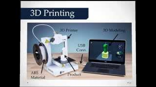 This video tutorial describes about 3 D Printing.