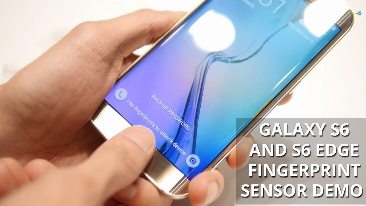 Descargar Samsung Galaxy S6 and S6 edge finger print sensor demonstration para Celular  #Android
